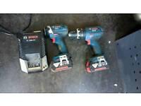 Bosch 18v professional twin pack like makita dewaly