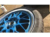 GENUINE VOLK RAYS ENGINEERING EVOLUTION 4 ALLOYS JDM DRIFT