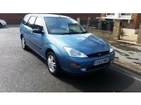 FORD FOCUS 1.6 ESTATE 2001 with tax and mot