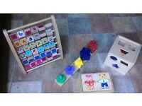 Baby/Toddler Wooden Toys (x4)