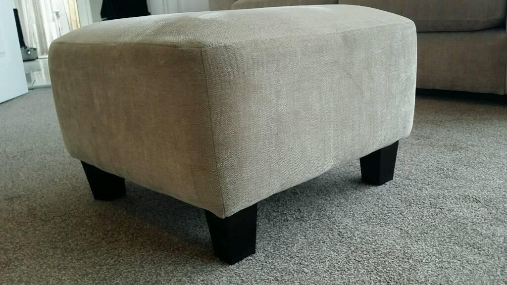 Next light mink footstool