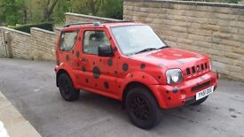 2001 / 51 Plate Suzuki Jimny 1.3 JLX 3dr ONLY 55K MILES FROM NEW