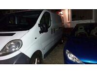 Vauxhall vivaro long wheel base mot alloys roof rack £1800 ovno