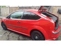 !!*Stunning Red Ford Focus*!! Nt astra corsa vectra fiesta clio polo golf peugeot micra c1 c2 c3 c4