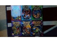 Beast Quest books -£20 onofor 40+ books