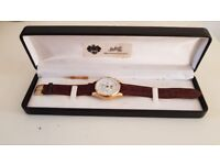GOLD WATCH DUBOIS 1785 PERPETUELLE GOLD 18K MOONPHASE LIMITED EDITION