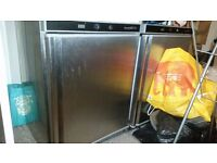 SALE 4 STAINLESS STEEL UNDERCOUNTER CATERING REFRIGERATORS FRIDGES (£120 EACH)