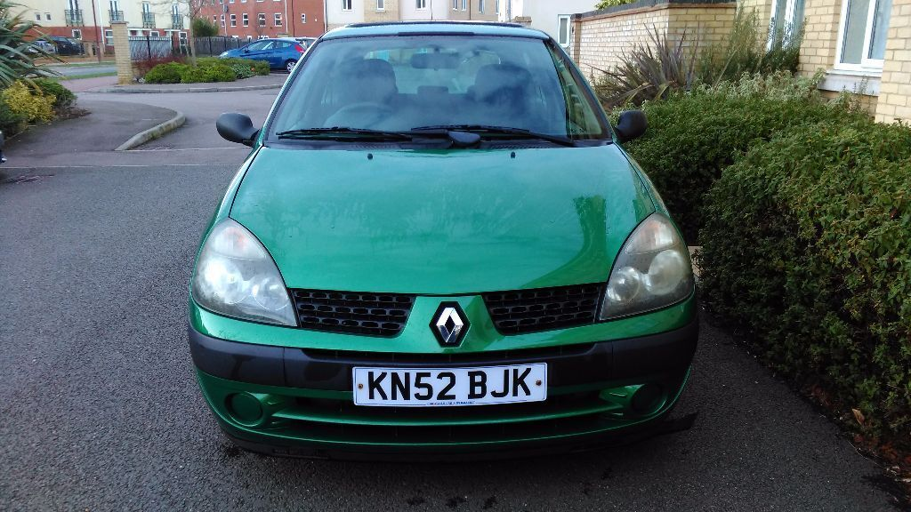 renault clio 2002 expression 1 5 dci diesel in cambridge cambridgeshire gumtree. Black Bedroom Furniture Sets. Home Design Ideas