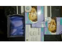 Lansinoh disposable nursing pads & cream