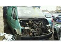 Ford Transit Van Breaking for Spares