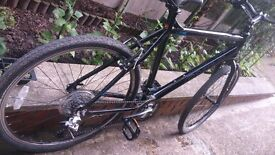 Bike mans Carrara in brilliant condition black 21speed