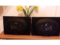 Sub Zero 6x9 Triaxial Speakers housed