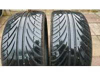Sunny SN3970 235/35 19 tyres - 6mm tread - 2 tyres
