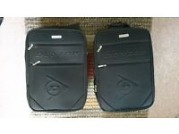 Two small cabin baggage suitcase pair by Dunlop