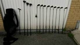 NOW £65 Full set of golf clubs and bag