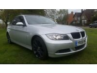 **12 MONTHS MOT** 2008 BMW 320D SE 4 DOOR SALOON **SAT NAV+LEATHER+GOOD HISTORY+AMAZING SPEC**