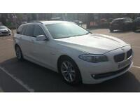 12 REG BMW 530D 5 SERIES TOURING CAR WHITE 3.0 STOPSTART 0 OWNERS MUST SEE CAR