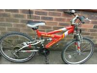 SUSPENSION MOUNTAIN BIKE ↔ IF READING THIS IT WILL STILL BE FOR SALE