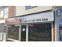 closed indian takeaway for sale