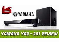 Yamaha YAS-CU201 Soundbar with Wireless Subwoofer