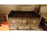 Charcoal barbeque grill for kitchen