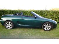 Mg mgf vvc 1997, convertible soft top, recent mot
