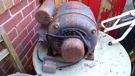 vintage motor by brooks motors limited of huddersfield of england.