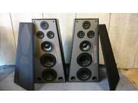 Super rare Eltax Terminator 400, superb Danish Floorstanding Speakers