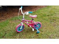 "Hello Kitty 12"" Girls Kids Bike"