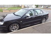 Black Saab 9-3 5 doors for sale or SWAP FOR VAN!!!