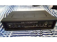 Behringer Ultrabass Amp Head BXD3000GH *Like new*