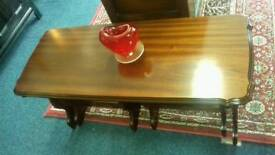 Rossmore Mahogany Nest of Tables