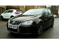 Volkswagon Golf R32 DSG, 5 door, black, petrol, 75k miles, FSH