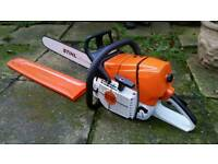 "Stihl MS461 20"" chainsaw - new unused"