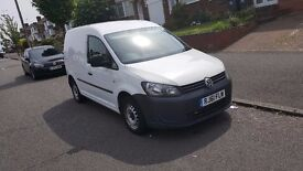 Volkswagen Caddy 1.6tdi 102 bhp Bluemotion C20 DIESEL MANUAL WHITE 2011