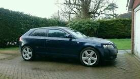 2006 Audi A3 Tdi DSG S Line HIGH SPEC 170 bhp RNSE Nav leather seats
