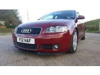 Audi A3 TDI SPORT 3DR 6SPD MAN 40MM DROP LEATHERS FSH