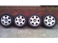 "vw golf / bora seat leon 16"" alloy wheels"