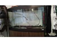 180 litre fluval vicenza fish tank and cabinet