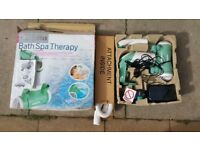 the spa therapy in very good condition! b est for gift !can deliver or post it!