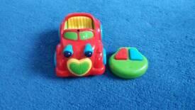 my first remote control car