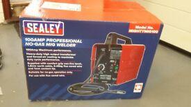 Sealy 100amp mig welder (new)