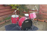 Premier Kit with Beverly Cosmic 21 Snare drum