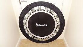 PROFESSIONAL PRO GYM REBOUNDER MINI TRAMPOLINE. USED IN GYMS.