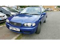 Toyota corolla gs 2001 1.4 LOW MILEAGE