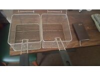 Commercial frying baskets