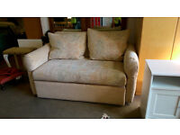 2 seater pull out sofa bed (delivery available)