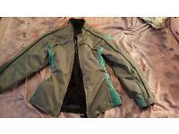 Frank Thomas ladies textile armoured motorbike jacket