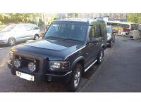 Land Rover Discovery 2 Td5 XS - 7 Seat - Black - 127k - 1 Year MOT