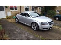 Audi TT 1.8 20v Quattro 4wd RARE blue leather. Px poss BARGAIN need gone by the end of the month